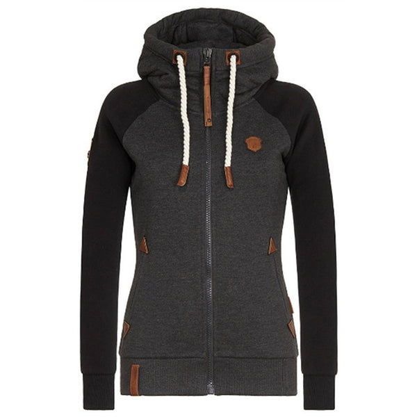 Women Pullover Fleece Hooded Jacket - On-Point Clothing!