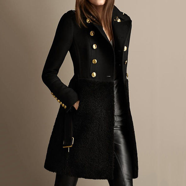 Outwear Oversized Gothic Punk Slim Women Coats - On-Point Clothing!