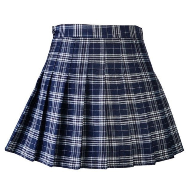 Women Casual Plaid Skirt - On-Point Clothing!