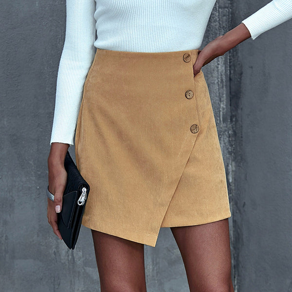 Casual High Waist Skirts for Woman - On-Point Clothing!