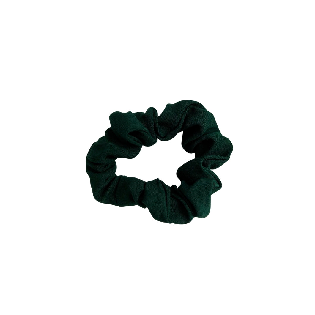 Skinny Forest Green Scrunchie