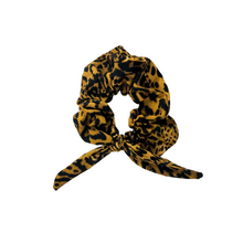 Load image into Gallery viewer, Leopard WILD Bunny Ear Scrunchie