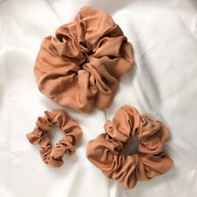Load image into Gallery viewer, Dusty Pink Bamboo Silk Scrunchie