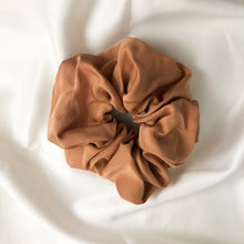 Load image into Gallery viewer, Large Dusty Pink Bamboo Silk Scrunchie