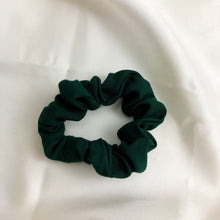 Load image into Gallery viewer, Skinny Forest Green Scrunchie