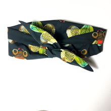 Load image into Gallery viewer, Iris Bee Print Wire Wrap Headband