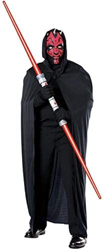 Darth Maul Mask with attached hood, cape.