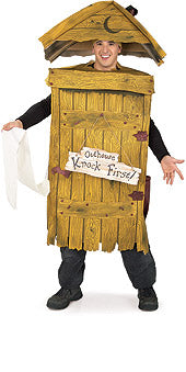 Outhouse costume.
