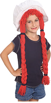 Rag Doll Hat with wig