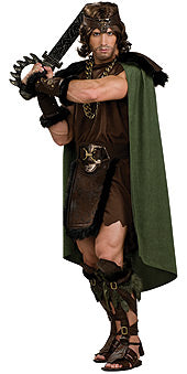 Barbarian Man  Costume