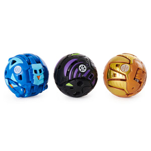 Bakugan Battle Brawlers Starter Bundle (Howlkor Ultra and Nillious Deka)