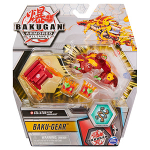 Bakugan Ultra Gillator with Transforming Baku-Gear