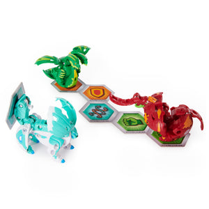 Bakugan Battle Brawlers Starter Bundle (Hydorous Ultra and Dragonoid Deka)