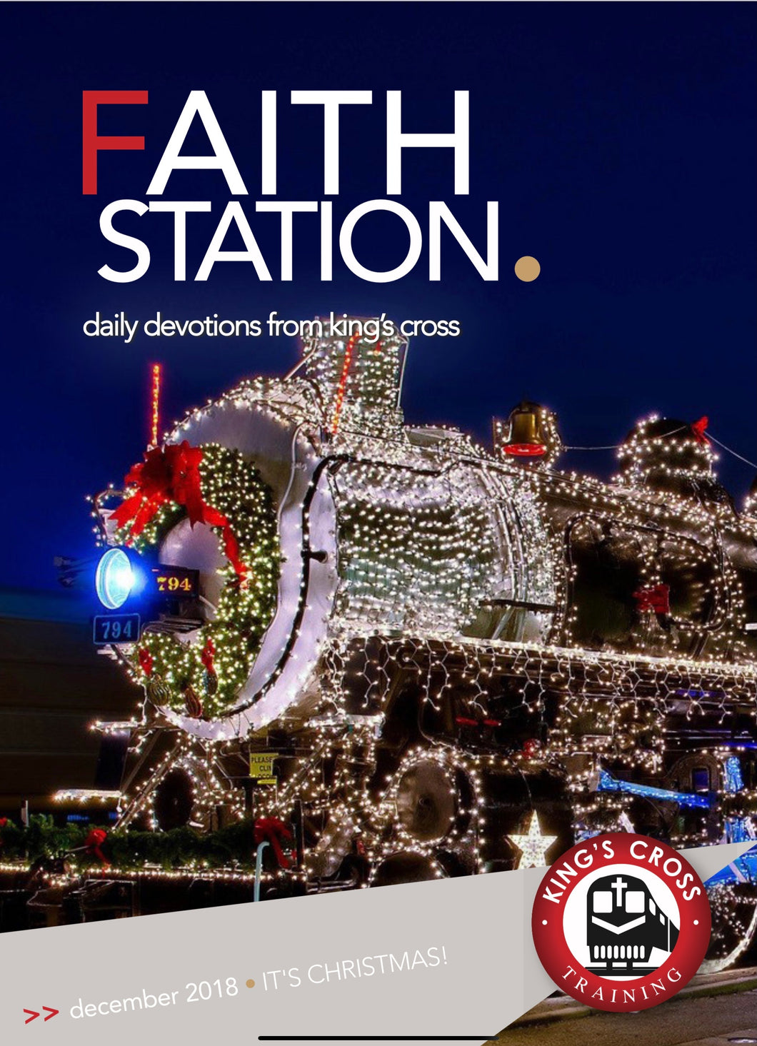 FAITH STATION - DECEMBER 2018