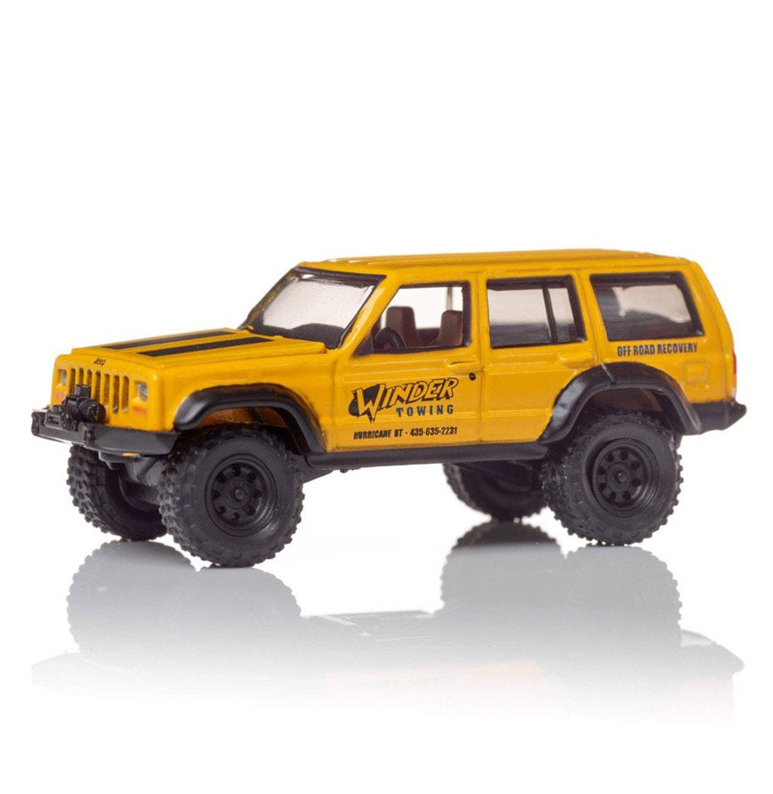 Autographed Matt's Off Road Rescue Jeep