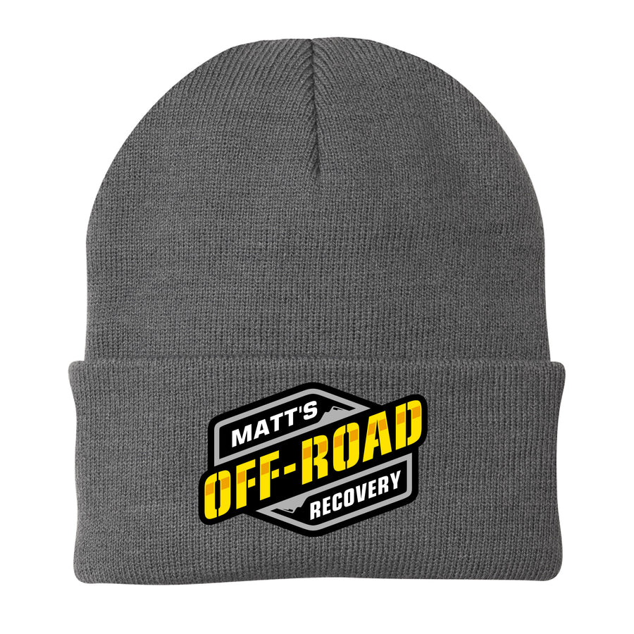 Matt's Off Road Beanie