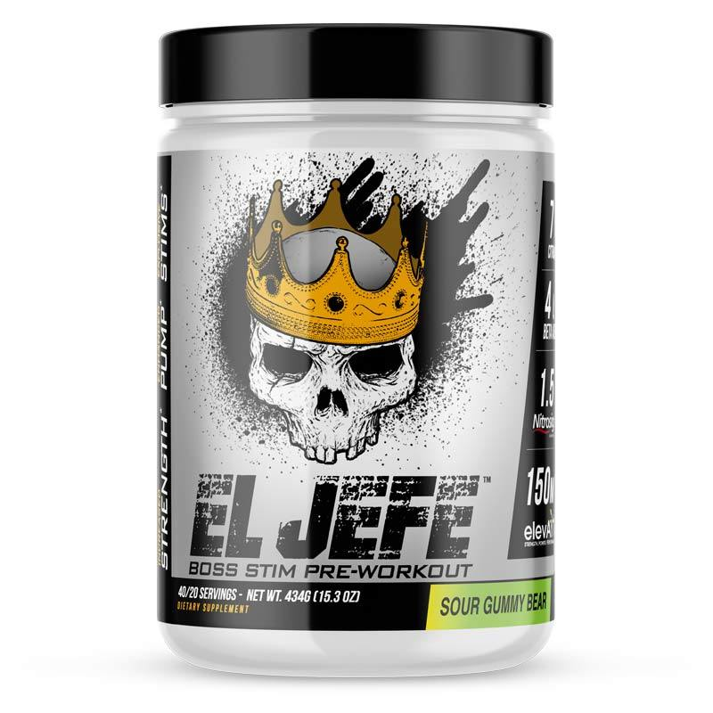 ASC Supplements El Jefe Pre-Workout - Supp Kingz