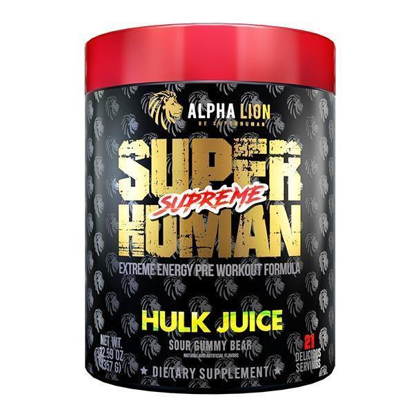 Alpha Lion Superhuman Supreme Pre-Workout - Supp Kingz