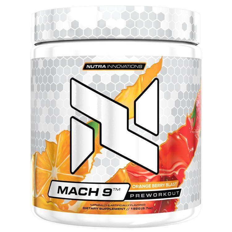 Nutra Innovations Mach-9 Pre-Workout - Supp Kingz