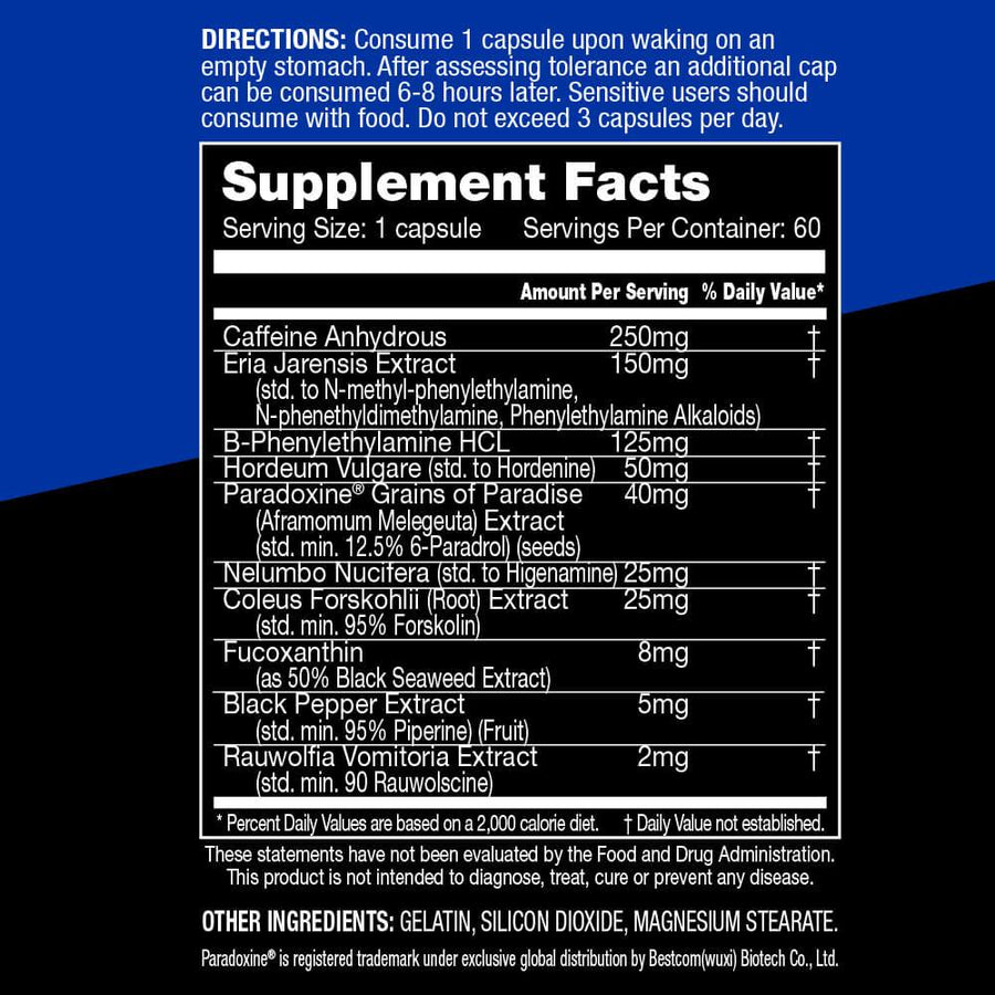 PerforMax Labs OxyMax Thermogenic Fat Burner - Supp Kingz