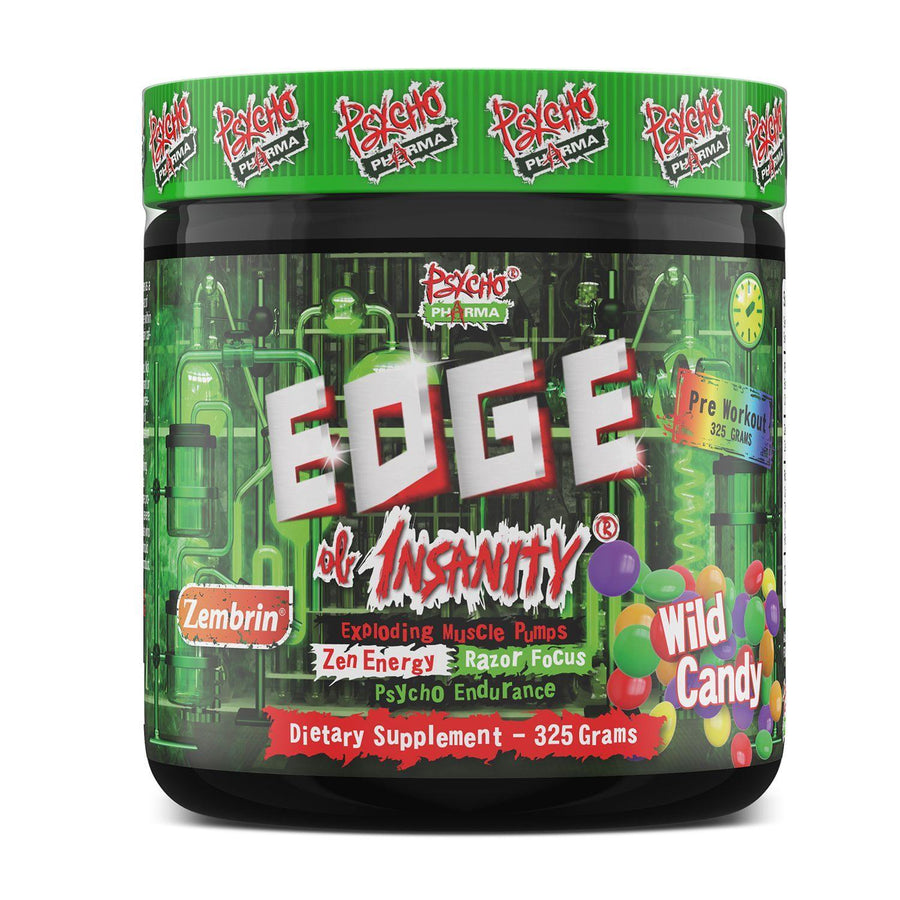 Psycho Pharma Edge of Insanity Pre-Workout - Supp Kingz
