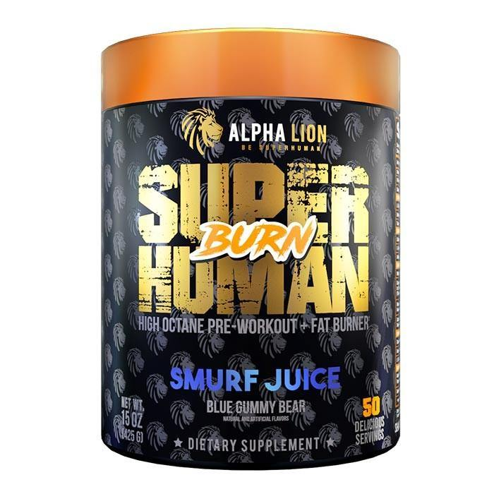 Alpha Lion Superhuman Burn - 2 In 1 Fat Burning Pre-Workout - Supp Kingz