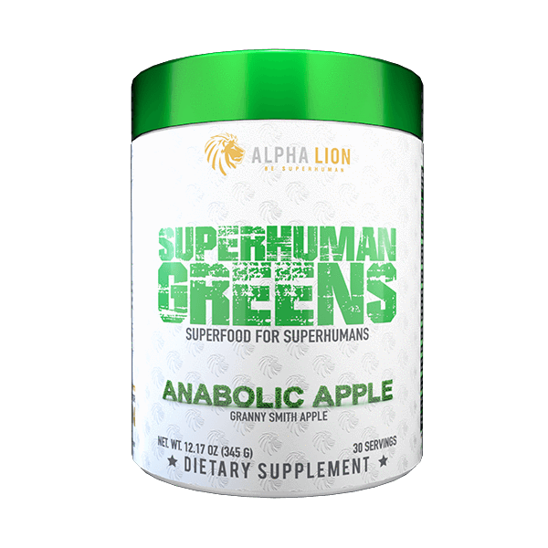 Alpha Lion Superhuman® Greens - 40+ Powerful Superfood Blend