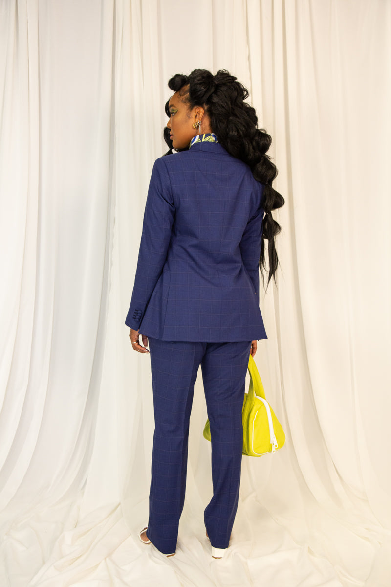 Women's double breasted all-business suit