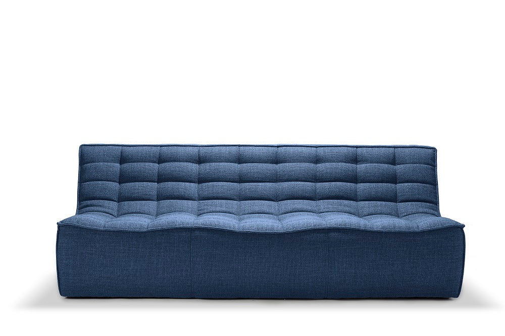 N701 sofa - 3 seater - Blue