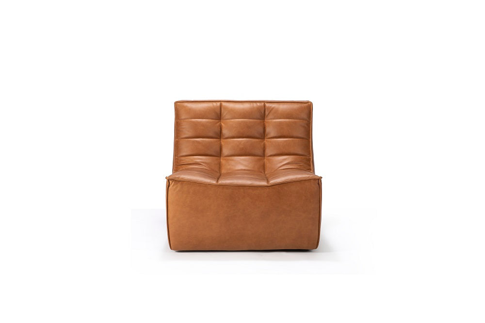 N701 sofa - 1 seater - old saddle
