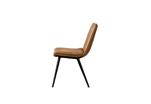 Navarra sidechair - fabric T-antracite