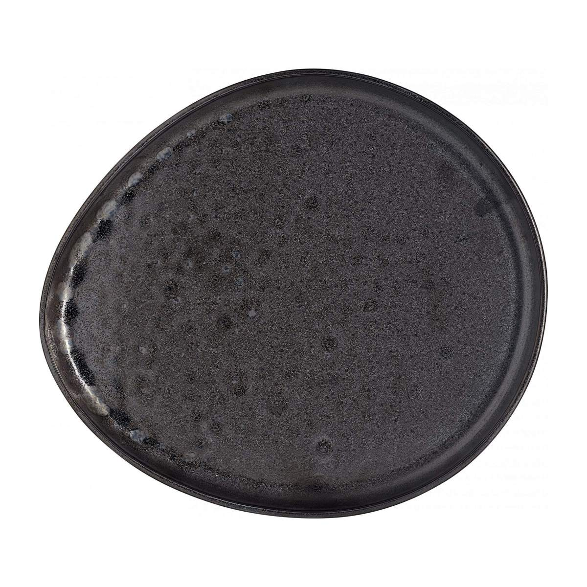 ROMIE/PORCELAIN DINNER PLATE BLACK 29CM