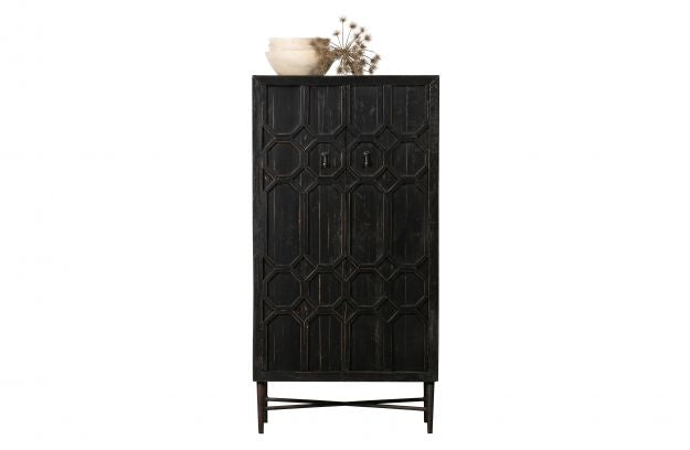 BEQUEST CABINET WOOD BLACK