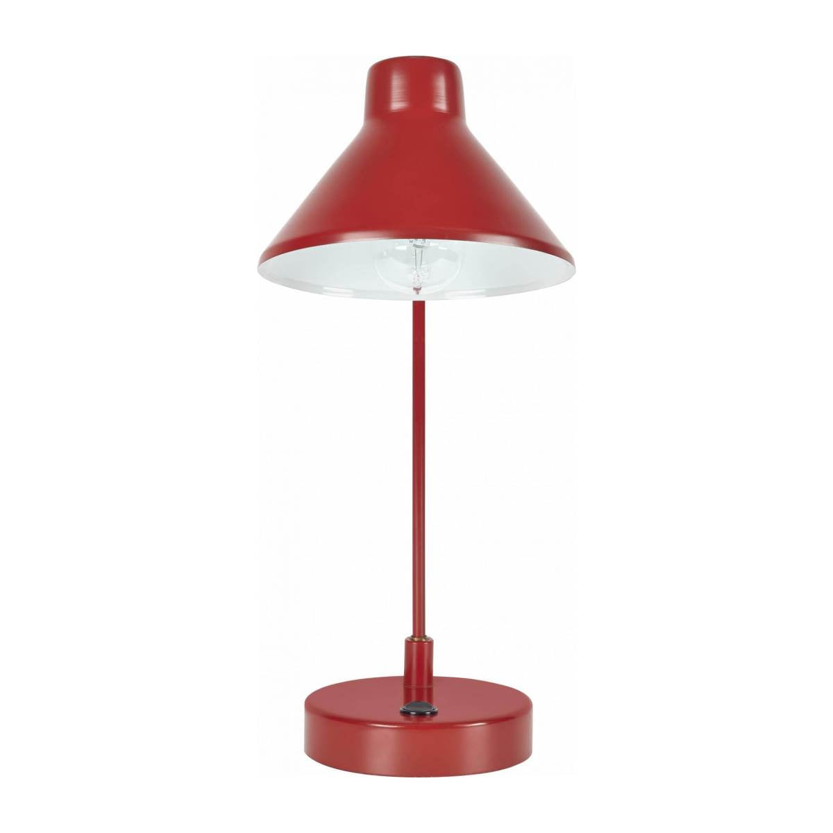 BOBBY/ DESK LAMP RED