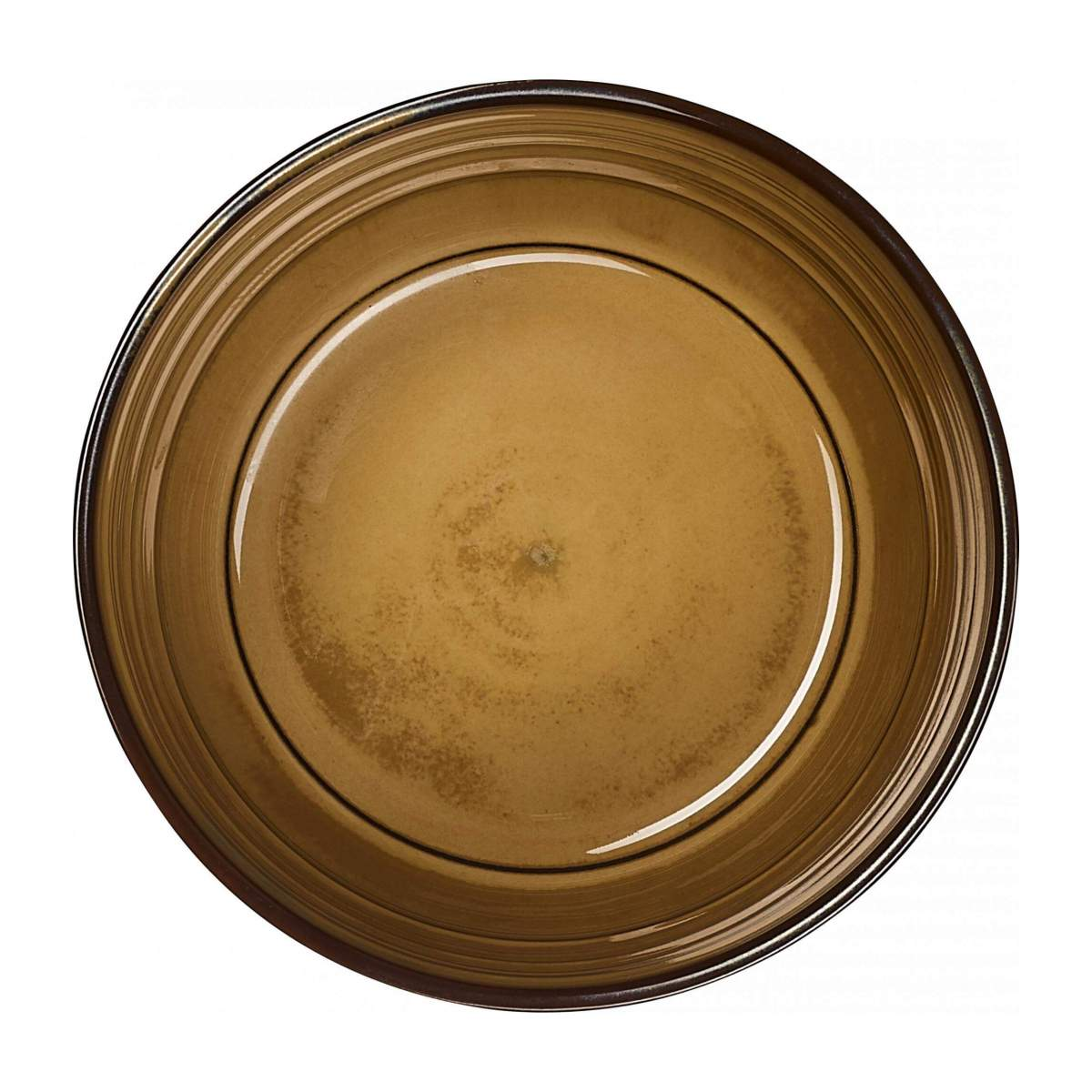 RESTONICA/PORCELAIN BOWL BROWN 12CM