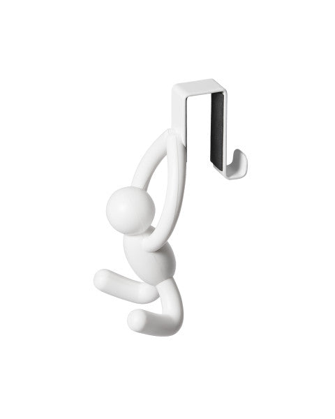 Buddy cabinet hook white