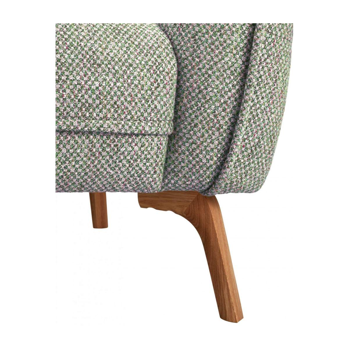 COMO/ARMCHAIR BELLAGIO GREEN OAK LEGS