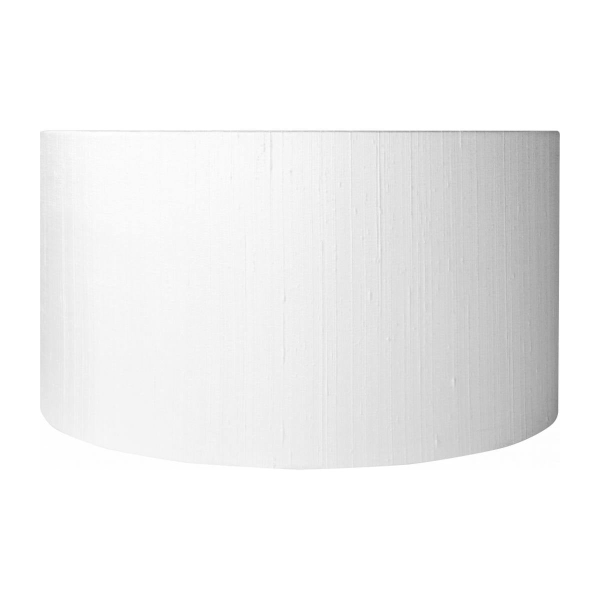 DRUM SILK/ DRUM SHADE 49x26 CM WHITE
