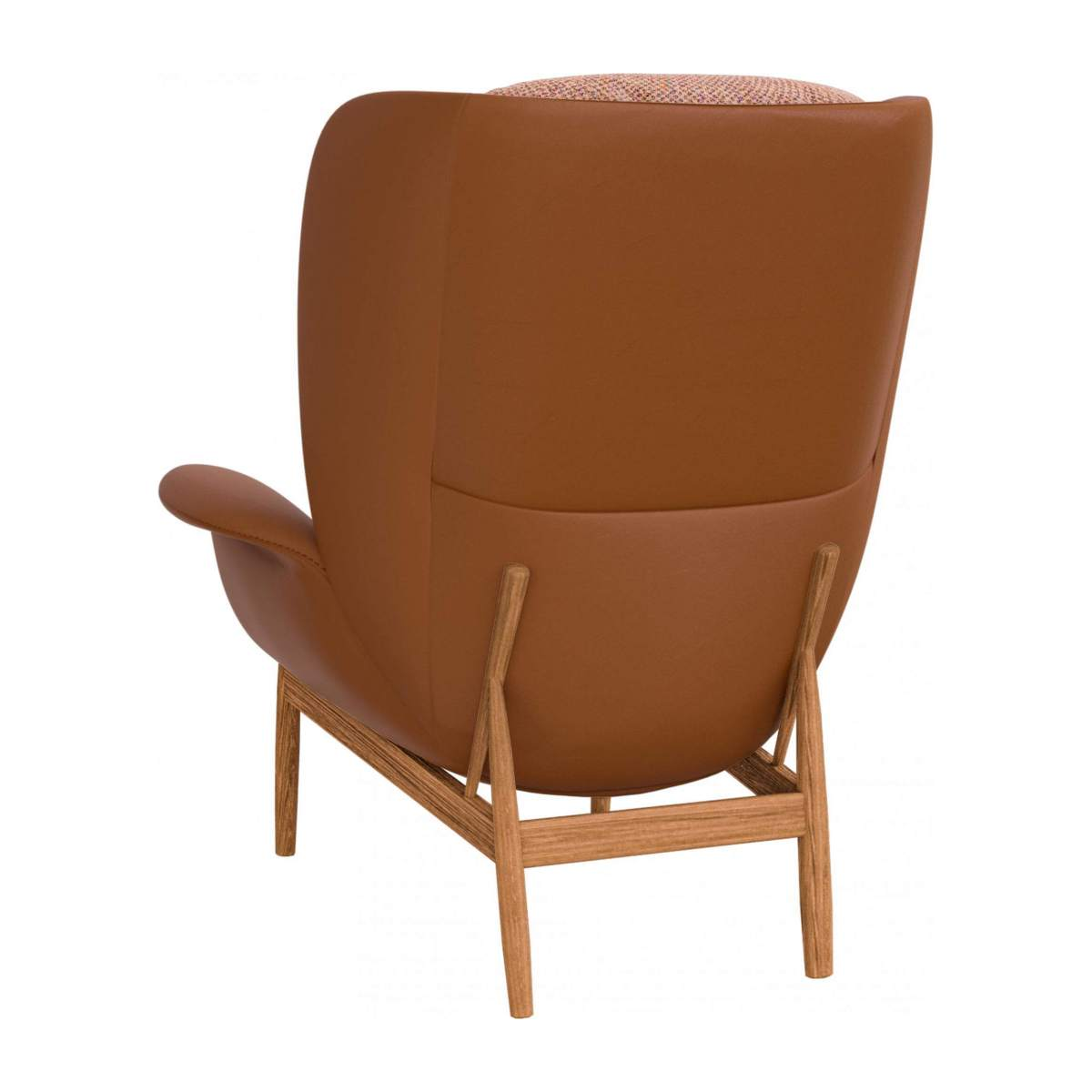 HERVE/ARMCHAIR LTHR & BELLAGIO ORANGE