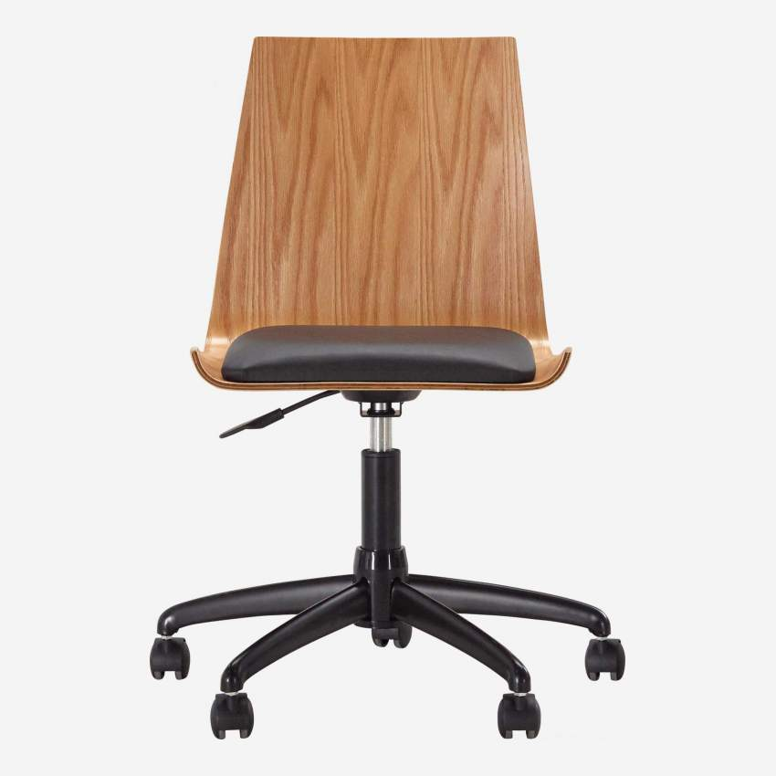 GANDHI/OFFICE CHAIR OAK