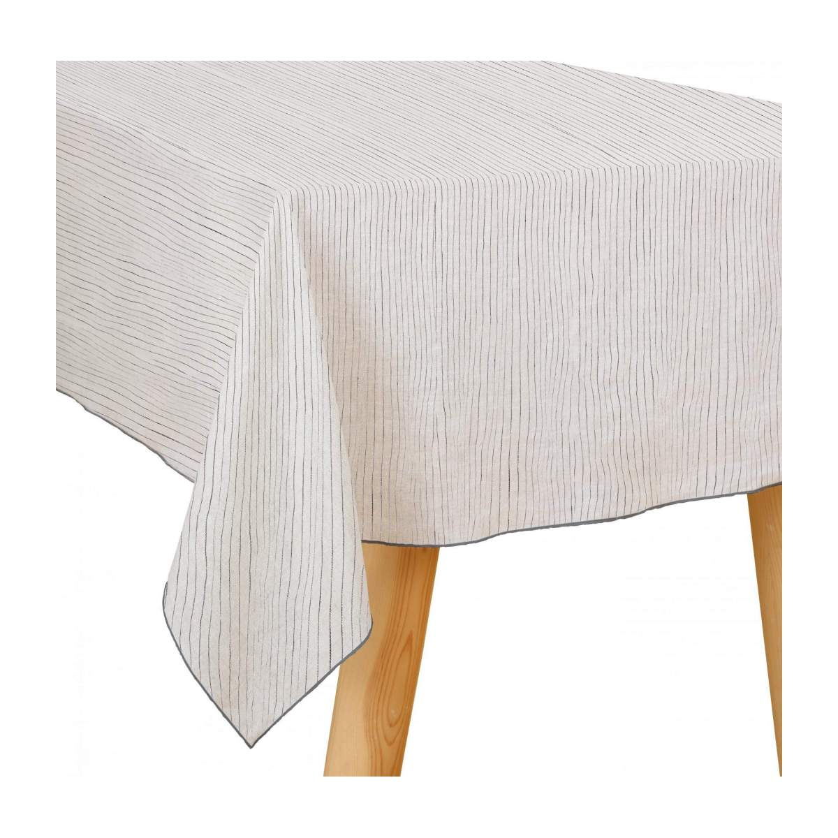 LINEN/STRIPED LINEN TABLECLOTH 150X250CM
