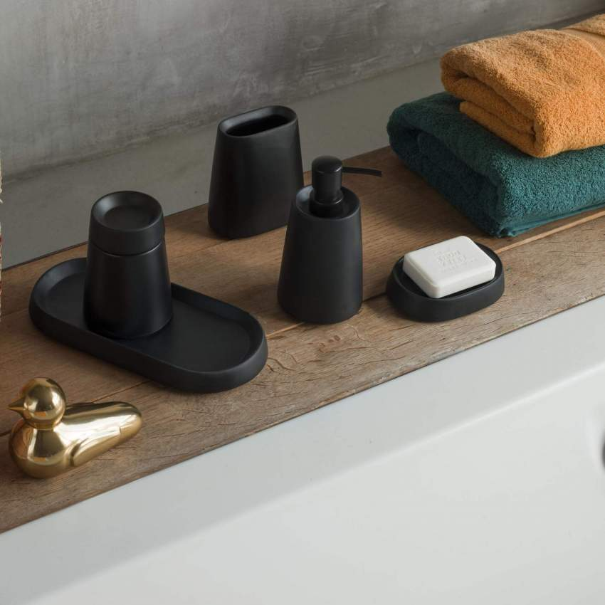 LOUIS/SOAP DISPENSER BLACK