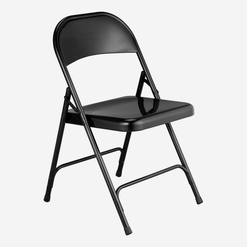 MACADAM/ FOLDING CHAIR BLACK N