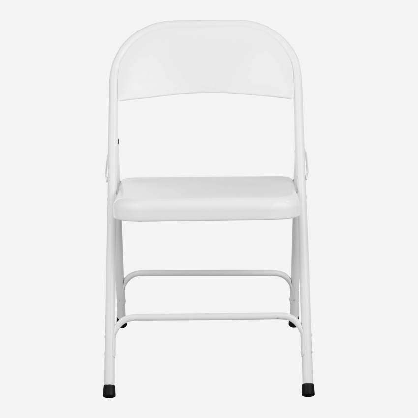 MACADAM/ FOLDING CHAIR WHITE N