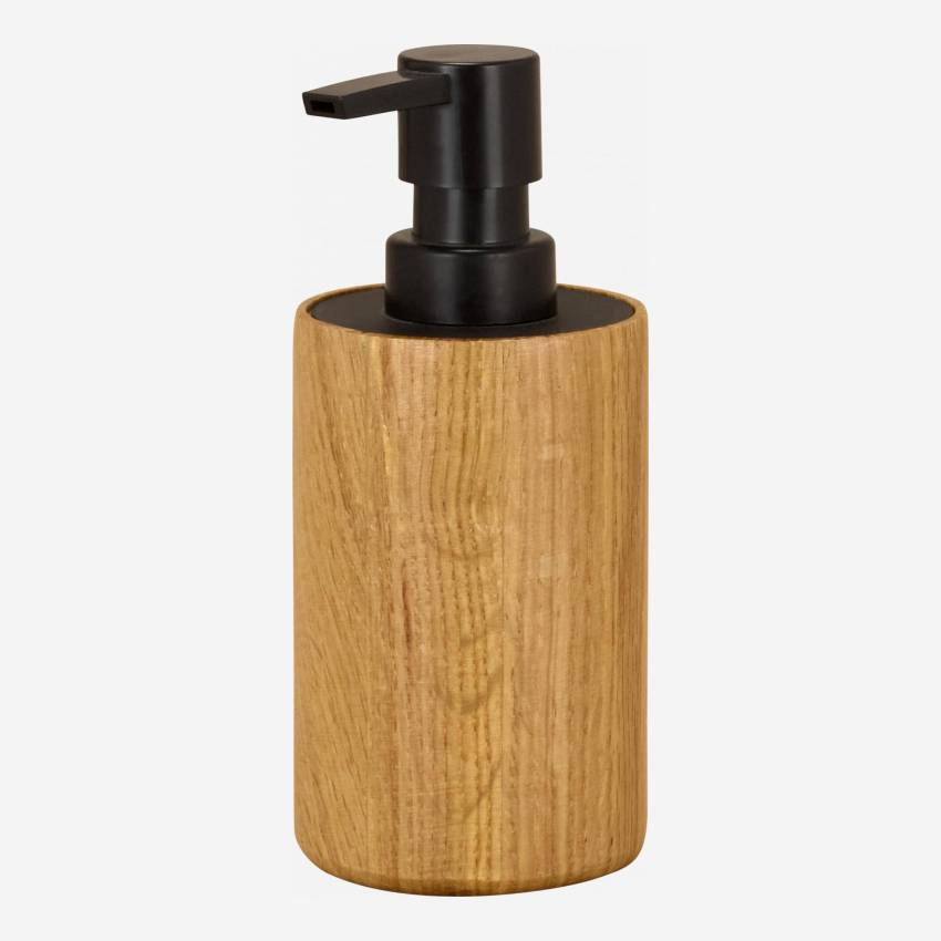 MAJESTIC/OAK WOOD SOAP DISPENSER