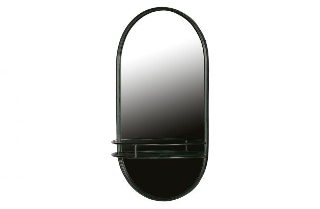 MAKE-UP MIRROR METAL BLACK