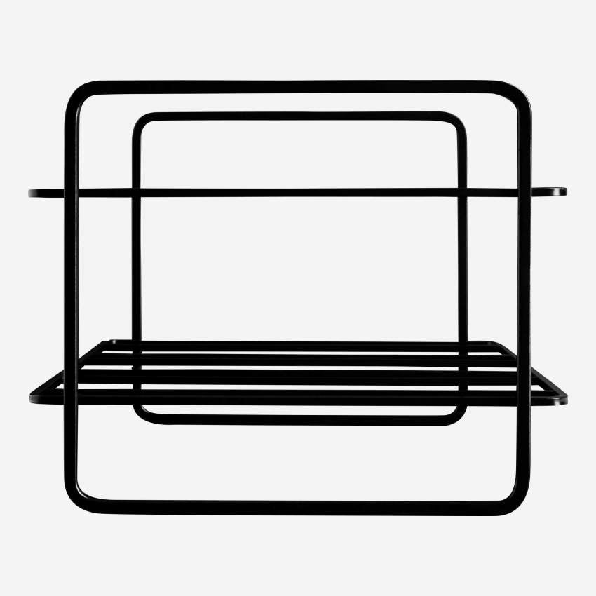 MIKADO/WIRE WINE RACK BLACK 6 PCES