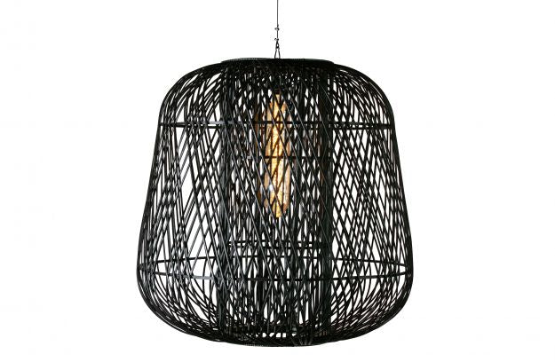 MOZA HANGING LAMP BAMBOO BLACK