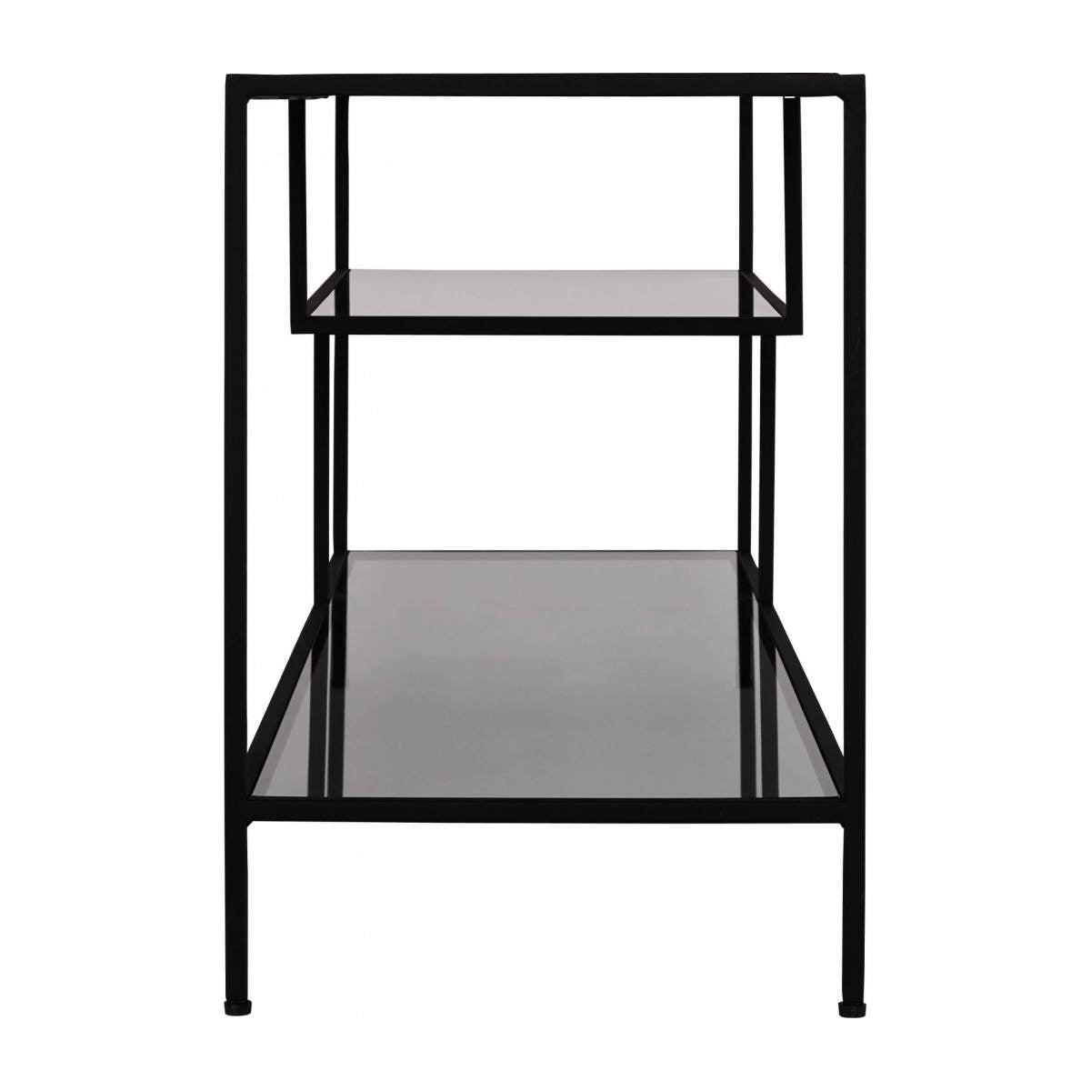 NATHANAEL/LOW BOOKCASE METAL