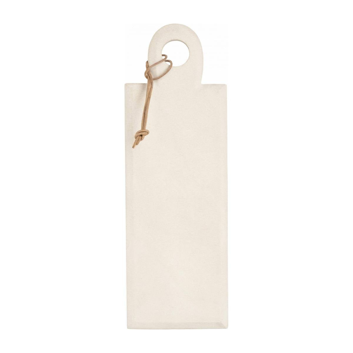 PESTO/SANDSTONE SERVING BOARD WHITE